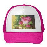 Victorian rosado subió gorra