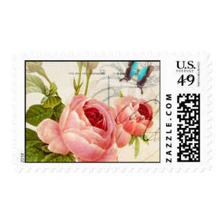 Victorian Rose (4) Postage