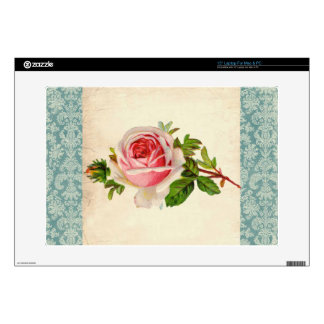 Victorian Rose and Damask Laptop Skins
