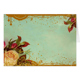 Victorian Rose Blank Note Cards