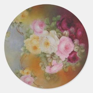 Victorian Rose Bouquet Sticker