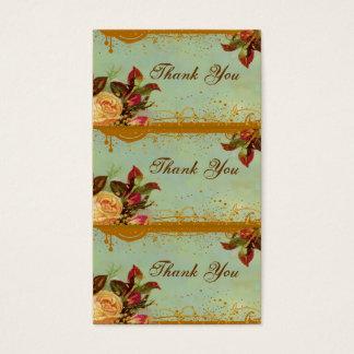 Victorian Rose Elegant Mini Card Tags