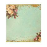 Victorian Rose Elegant Paper Memo Note Pad