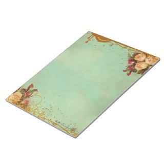 Victorian Rose Elegant Paper Pad Note Pads
