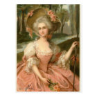 Victorian Rose Lady Postcard