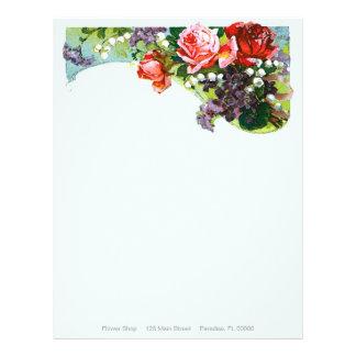 Victorian Rose ~ Letterhead