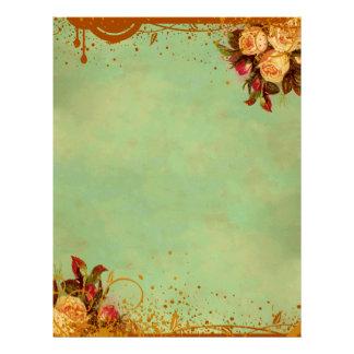 Victorian Rose Letterhead