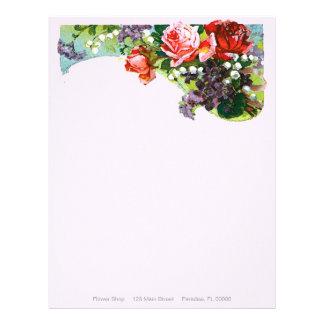 Victorian Rose ~ Lettheads Letterhead