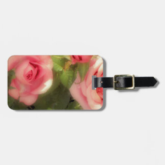 Victorian Rose Luggage Tag