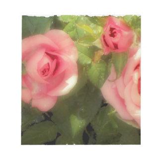Victorian Rose Memo Pads