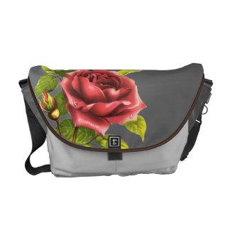 Victorian Rose Messenger Bag