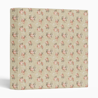 Victorian Rose Pattern Binder
