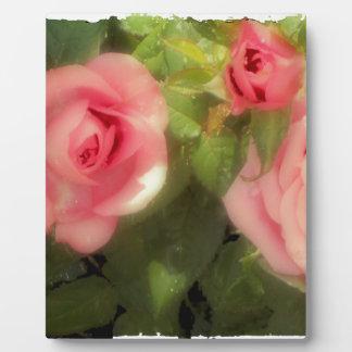Victorian Rose Plaque