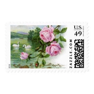 Victorian Rose Postage