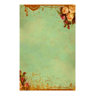Victorian Rose Stationery