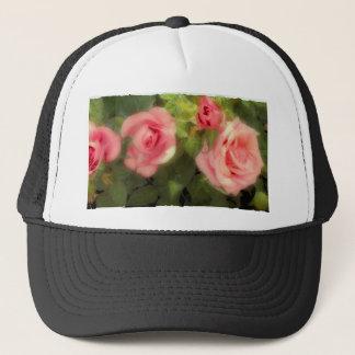 Victorian Rose Trucker Hat
