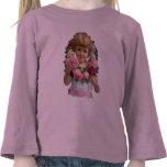 Victorian Rose Wreath Girl T-shirt