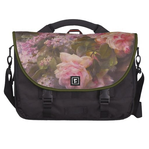 Victorian Roses and Lilacs Commuter Bag