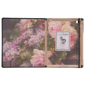 Victorian Roses and Lilacs iPad Covers