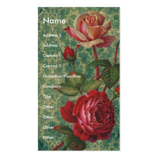 Victorian Roses Business Card