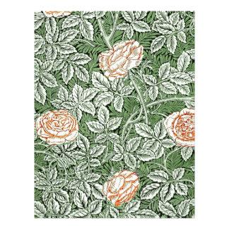 Victorian Roses Letterhead