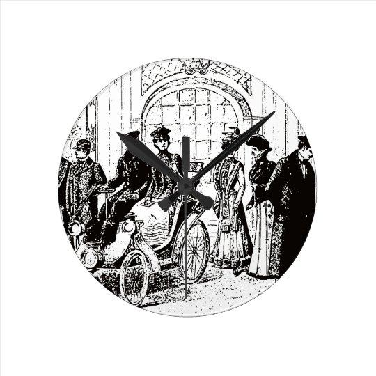 Victorian Round Clock