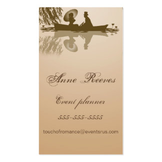 Victorian Rowboat Business Card