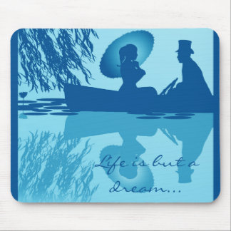Victorian Rowboat Mousepad