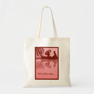 Victorian Rowboat Tote Bags