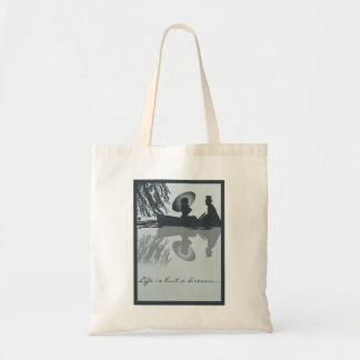 Victorian Rowboat Tote Canvas Bags