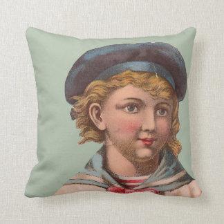Victorian Sailor Pillow Beach Cottage Chic