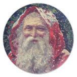 Victorian Santa Christmas Dinnerware Party Plate