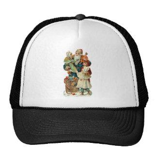 Victorian Santa Claus and Trucker Hat