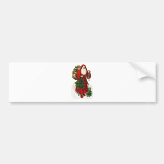 Victorian Santa Claus Bumper Sticker