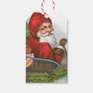 Victorian Santa Claus Gift Tags