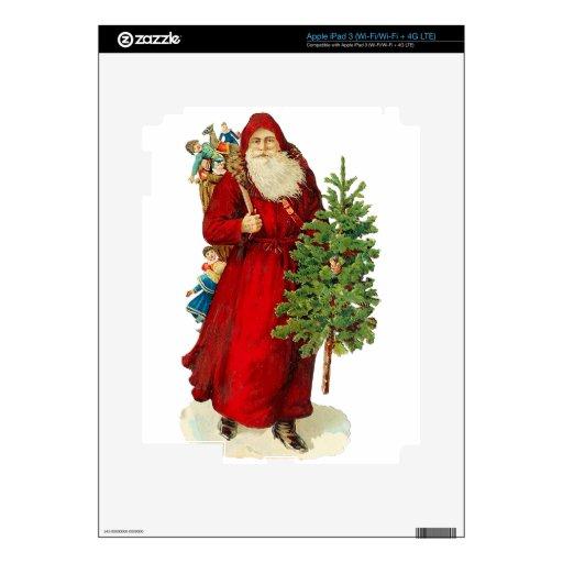 Victorian Santa Claus iPad 3 Skin