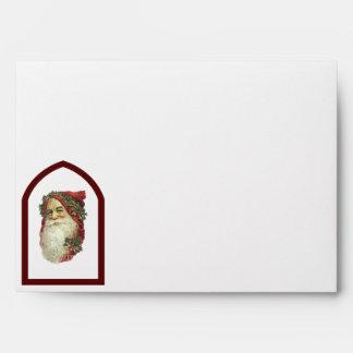 Victorian Santa Envelopes