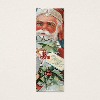 Victorian Santa gift tags