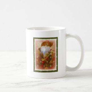 victorian santa mug