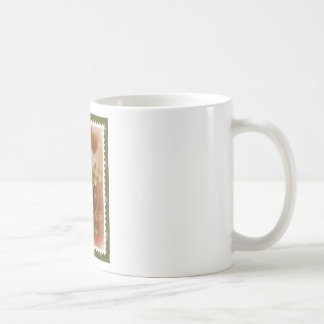 victorian santa coffee mug