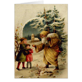 Victorian Santa Felicitacion