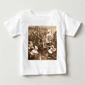 Victorian Santa Vintage Stereoview Sepia Tee Shirts