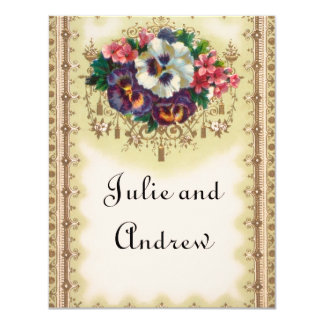 Victorian Save the Date Cards