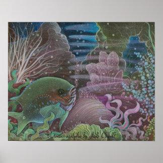 Victorian scalyfin Art Poster