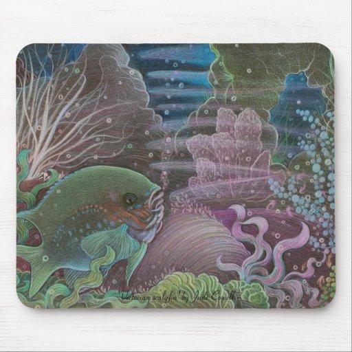 Victorian scalyfin mousepad