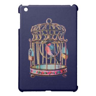 Victorian Scrap Die cut Bird Cage iPad Mini Covers
