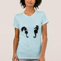 Victorian Seahorses T-Shirt