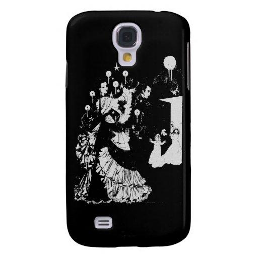 Victorian Silhouette Galaxy S4 Case