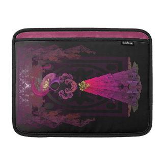 Victorian Silhouette MacBook Sleeve