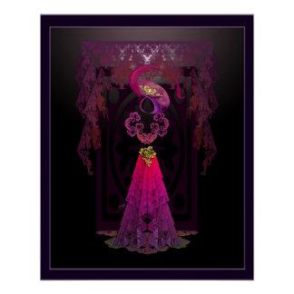 Victorian Sillhouette Poster